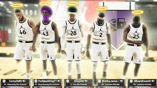 what happens when you run 5 lockdown defenders in nba 2k19...  you WONT believe what happened..