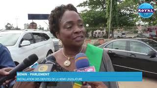 INSTALLATION DES DEPUTES DE LA 8EME LEGISLATURE