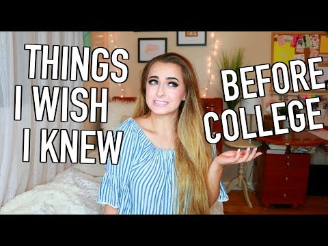 30 Things I Wish I Knew Before My Freshman Year at College