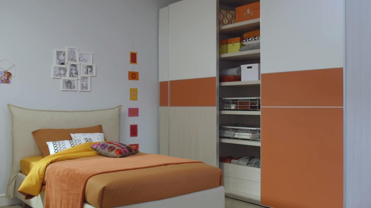 Moretticompact camere made in italy legno innovazione - Camere moretti compact ...