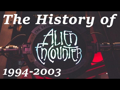 The History of & Changes to ExtraTERRORestrial Alien Encounter  Magic Kingdom