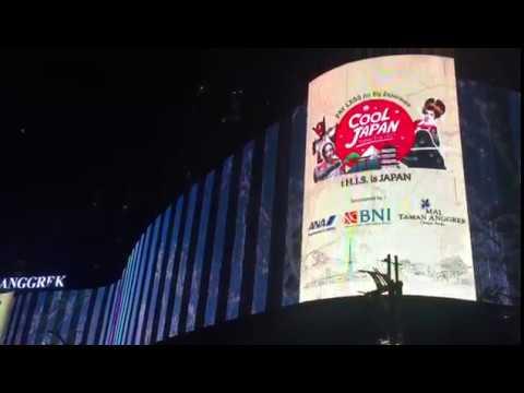 LED Motion Graphics - Mal Taman Anggrek Videotron Jakarta