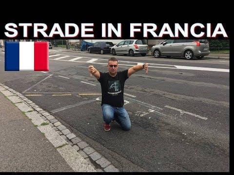 Come riparano le strade in Francia ( Strasburgo )