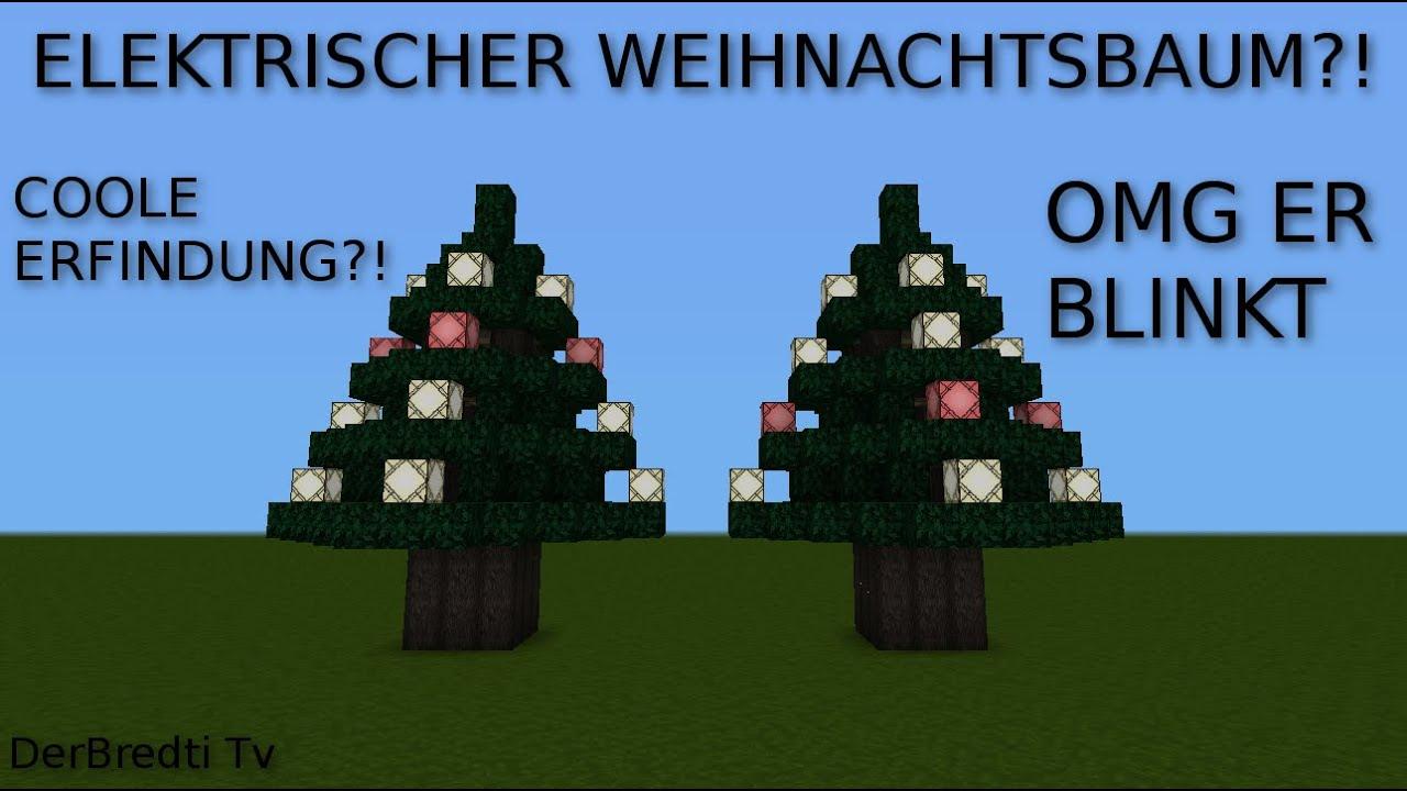 Automatisch blinkender weihnachtsbaum minecraft 1 8 youtube - Blinkender weihnachtsbaum ...