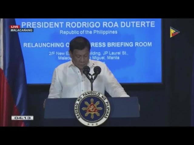 Duterte orders PDEA to solely undertake all anti-drugs ops