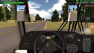 Heavy Bus Simulator Marcopolo Viaggio G7 1050 4x2 Camino a Sao Paulo desde Belo Horizonte