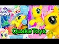 My Little Pony The Movie Glitter and Style Seapony Fluttershy MLP Sea Pony QuakeToys