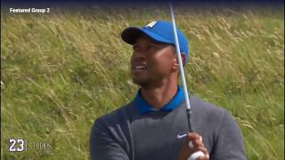 Tiger Woods Full First Round - The Open 2019 [Every Shot]