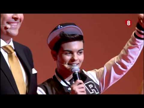 Abraham Mateo Girlfriend y Señorita (Premios La 8 - Burgos 2013)