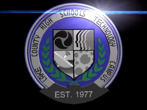 Logo for recruiting video: Lake County High School...