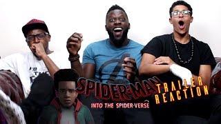 Spider-Man: Into the Spider-Verse Trailer Reaction