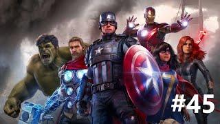 Snatching Pym Particles - Marvel Avengers Walkthrough Part 45