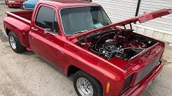 1974 C10 Pickup $17,900 Custom Chrome Maple Motors