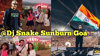 SUNBURN FESTIVAL GOA 2019 DAY 1| DJ SNAKE LIVE SUNBURN GOA | DJ SNAKE SAID THAT WE ARE UNITED | VLOG