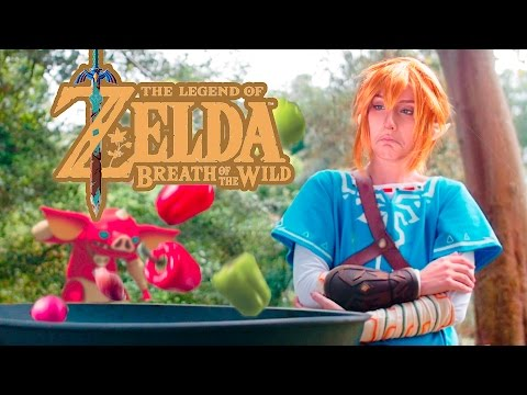 Cooking With Link Legend of Zelda: Breath of the Wild Parody