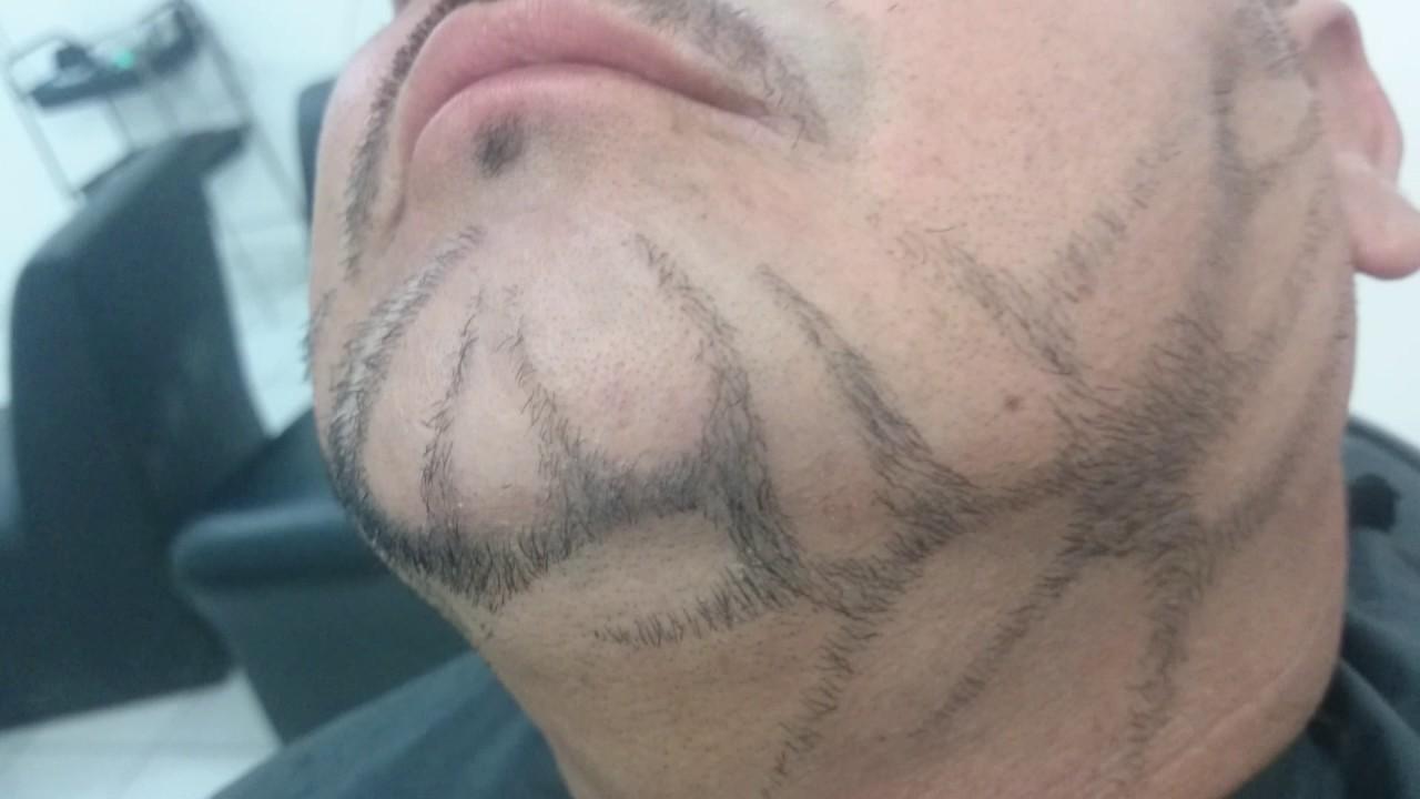 Desenho De Barba Personalizadas Criando E Inovando Estilos De