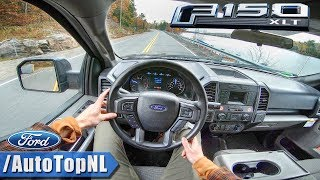 Ford F150 4x4 XLT 5.0 V8 POV Test Drive by AutoTopNL