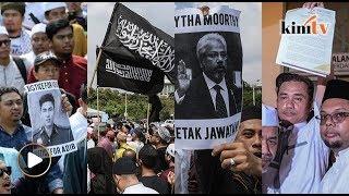 300 berarak tuntut keadilan untuk Adib, desak Dr M pecat Waytha