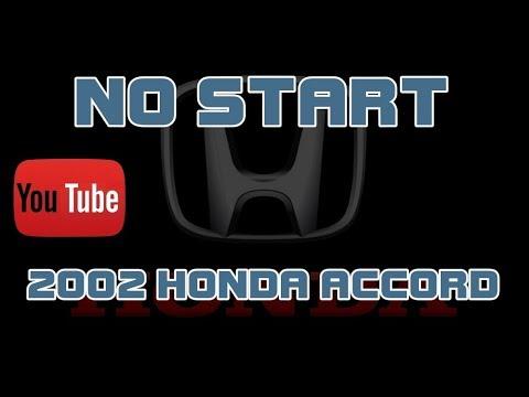 2002 Honda Accord 2 3 No Start Cranks But Does Not