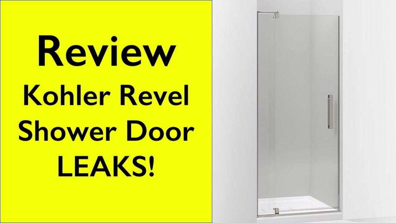 Kohler Revel Pivot Shower Door Leaking K 707500 L Bnk Youtube