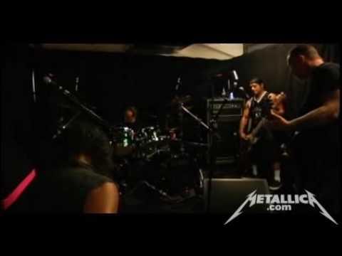 Metallica - Rehearsal / Tuning Room - Zurich, Switzerland (2009-07-16)