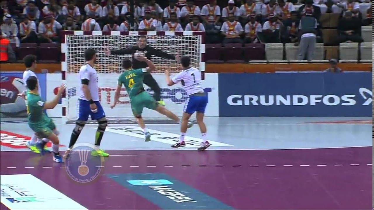 Top 10 plays of first round | IHFtv World Men's Handball Championship Qatar  2015