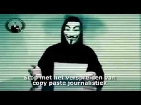 Anonymous - Last warning for the Dutch media