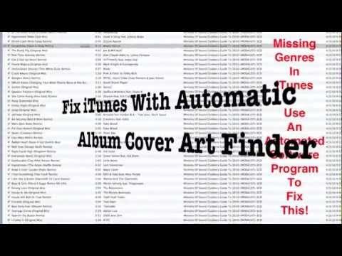 Fix iTunes With Automatic Album Cover Artwork Finder