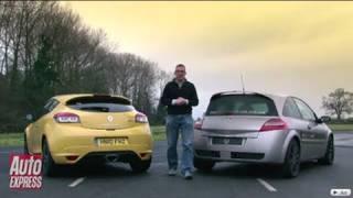 видео Renault Sport R.S. 01 Interceptor на службе в полиции