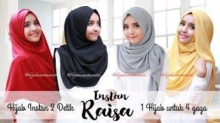 Hijab Tutorial Pashmina Instan Raisa, 1 Hijab 4 Gaya by Hijab Wanita Cantik