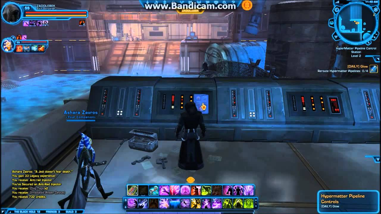 SWTOR Black Hole Dailies - Part 3 - Daily: Glow - YouTube