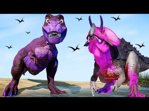 New Dinosaur  ( CHOMPER )  in Jurassic World Evolution Dinosaurs Fighting TREX, E750, IREX |