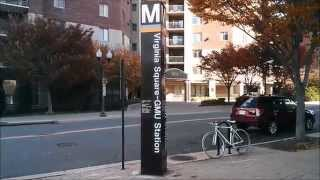 Virginia Square-GMU Metro Station - Washington DC Metro Orange/Silver lines
