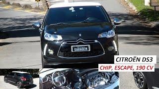 Garagem do Bellote TV: Citroën DS3 (chip, escape, 190 cv)