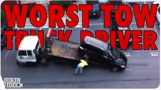 Worst Tow Truck Driver Ever