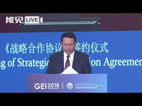 GEI 2018:Wang Lin, President of China Three Gorges Corporation中国长江三峡集团有限公司总经理王琳演讲