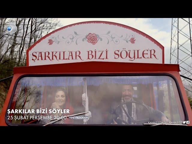 Sibel Can, Hakan Altun ve Hüsnü Şenlendirici'nin Şarkılar Bizi Söyler  programı başlıyor
