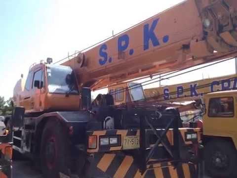 SPK Crane บริการรถเครนให้เช่า รถเครนรับจ้าง จังหวัดชลบุรี 038-799925