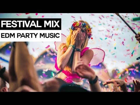 EDM FESTIVAL MIX - Electro House & Dance Party Music 2017