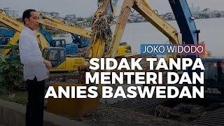 Jokowi Dadakan ke Waduk Pluit Tanpa Menteri Basuki dan Anies Baswedan: Ini Alat Enggak Jalan?