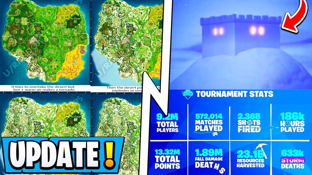 New Fortnite Update Season 7 Teasers Map Change Top 00004