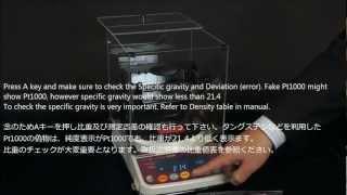 GOLD / PLATINUM TESTER GKS-300 (PART 3-2): MEASUREMENT PT1000 PLATINUM