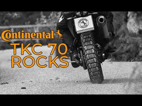Continental TKC 70 Rocks, El Nuevo Neumático Para Motos Trail