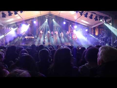 The Maccabeats at Trafalgar Square Hanukkah ceremony
