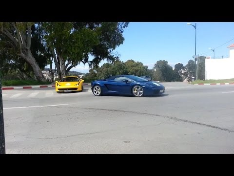 Russian SuperCars In Morocco,Tangier