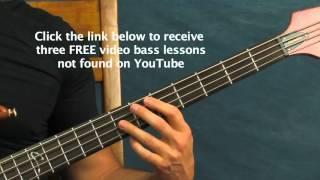 easy bass guitar song lesson sweet emotion aerosmith steven tyler