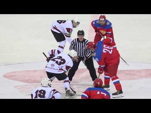 PRESIDENTS SPORTS CLUB CUP 2018 :  Russia - Latvia  09.11.2018