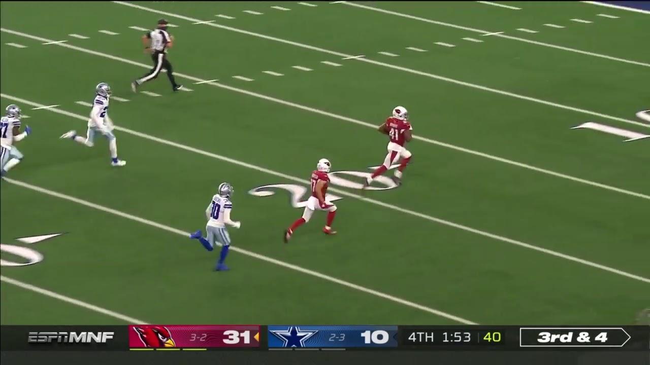 Kenyan Drake 69 Yard Touchdown | NFL Week 6