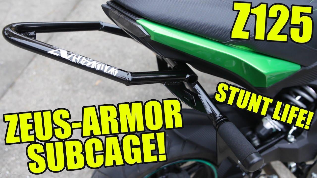 Zeus Armor Stunt Subcage for the Z125 Pro!