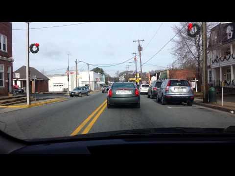 Driving Tour of Downtown Louisa, Va